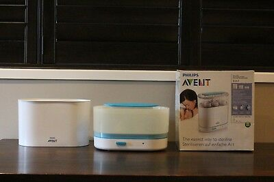 Philips ADVENT-3-In-1 Electric Steam Steriliser - In Good Condition