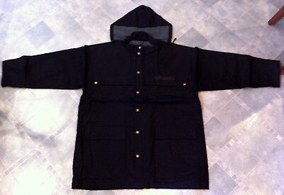 McWilliam's All Weather Black 3/4 Length Coat Size XL