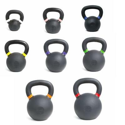 Powder Coat Kettlebell  - 4kg 8kg 12kg 16kg 20kg 24kg 28kg and 32kg