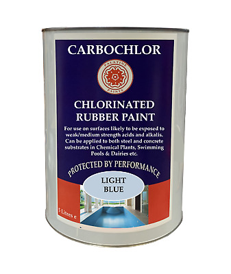 Chlorinated Rubber | Swimming Pool | Pond | Parlour Paint 2.5lt | 5lt