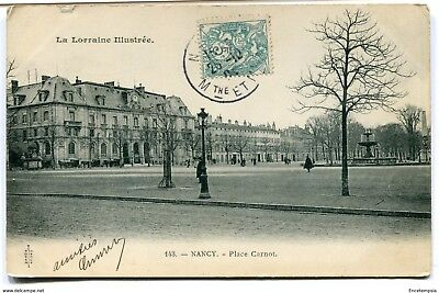 CPA - Carte postale -France - Nancy - Place Carnot - 1905 ( CP3965 )