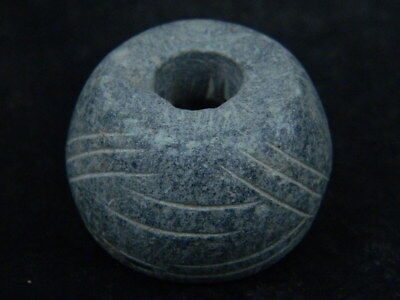 Ancient Stone Bead/Spindle Whorl Gandharan/Gandhara 100 AD #STN763