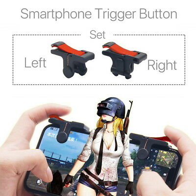 Gaming Trigger L1R1 Mobile Phone Aiming Fire Button Shooter Controller For PUBG