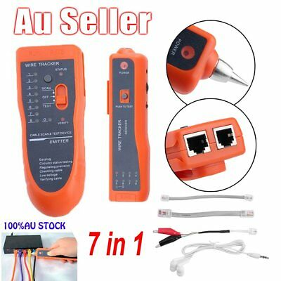 RPK806 Telephone Network Cable Wire Lan Line RJ Tracker Tester Tone Finder Kit A