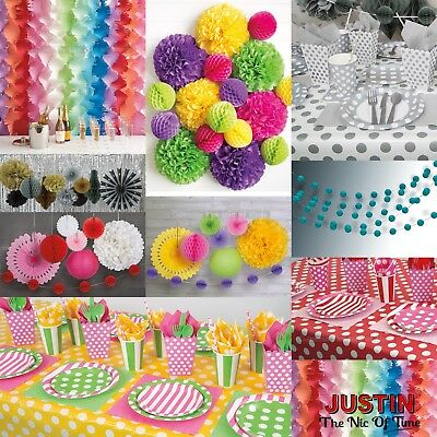 Disposable Colour Spots TABLEWARE & DECORATIONS Catering Wedding Birthday Party
