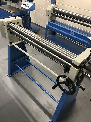 Mach /roll 620 X 60mm Geared Bending Rollers