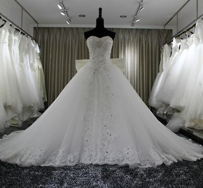 6687d8befdcd3 ... 8 10 12 14 16 18. $109.00 Buy It Now 28d 11h. See Details. New  white/ivory Wedding dress Bridal Gown custom size 2-4-6-