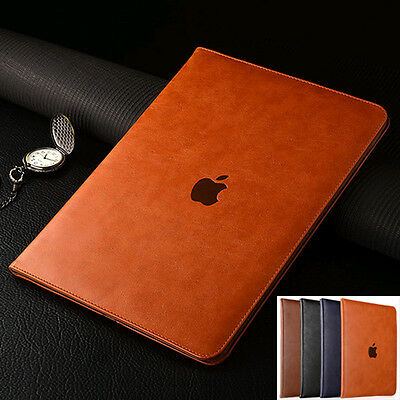 "Luxury Leather Case Smart Flip Cover For iPad 9.7"" Pro 11"" 12.9"" 2018 5th 2017"