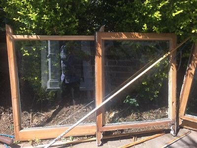 Sash windows reclaimed x8 including antique weights