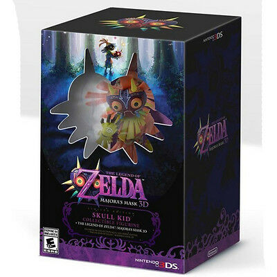 The Legend of Zelda: Majora's Mask 3D [Limited Edition] Nintendo 3DS Official!