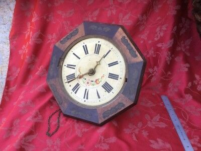 Black Forest Wag Wall Clock For Spares Or Repair Early Wood Arbours