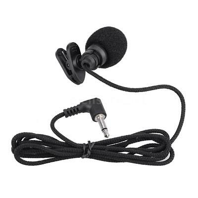 Mini Portable Clip-on Hands-free 3.5mm Jack Condenser Microphone Mic B1W1
