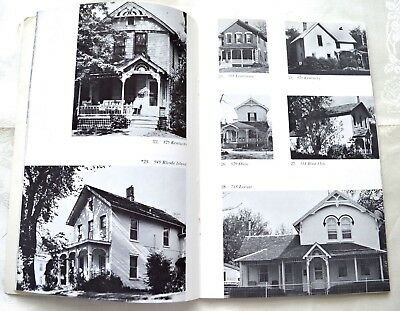 Vintage 1968 Historic Homes Book 19Th Century Houses In Lawrence Kansas Photos!
