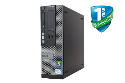 Dell OptiPlex 390 Desktop/ SFF Core i3/ i5 up to 8GB RAM HDD/ SSD Win 10 Pro