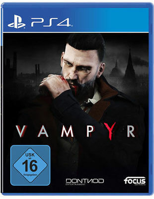Vampyr PS4 (Sony PlayStation 4, 2018)(OVP & NEU)