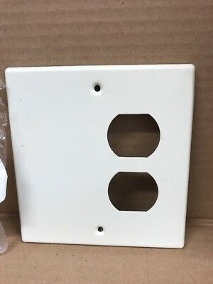 Wiremold V4047BX Faceplates Ivory Metal