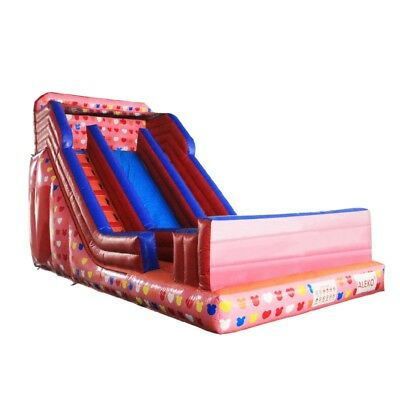 ALEKO Commercial Inflatable Bounce House Water Slide with Pool and Blower