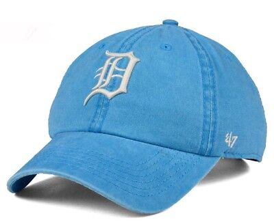 huge selection of aaf2f f24f6 New Detroit Tigers Summerland Clean Up Hat Cap 47 Brand Blue