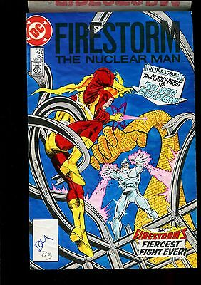 Fury Of Firestorm 53 Cover Color Guide-Original Name Of Villian & Personal Note
