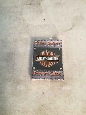 Harley Davidson Casino Quality Playing Cards