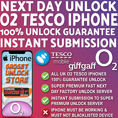 Iphone O2 Unlock Code For Iphone 6 7 8 X Xr Xs 11 11 Pro Max Plus O2 Tesco Uk