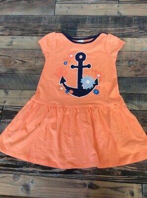NWT Gymboree Stripe and Anchors Colorblock dress Girls Outlet 2T,3T,4T