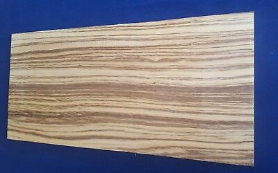 1 × Solid Zebrawood/Zebrano Sheets 3mm, 4mm or 6mm