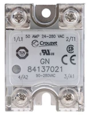 Crouzet 50 A Solid State Relay, Zero Crossing, Chassis Mount SCR, 280 V Maximum
