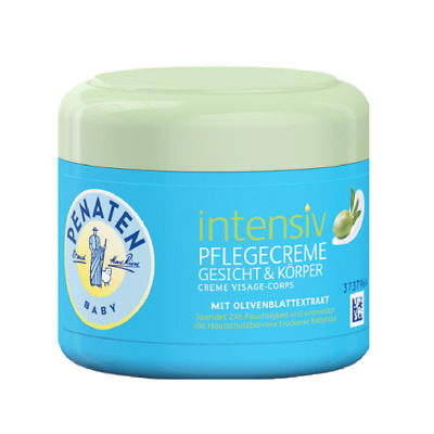Penaten Soothing Naturals Intensive Face & Body Cream 100ml. Olive leaf extract