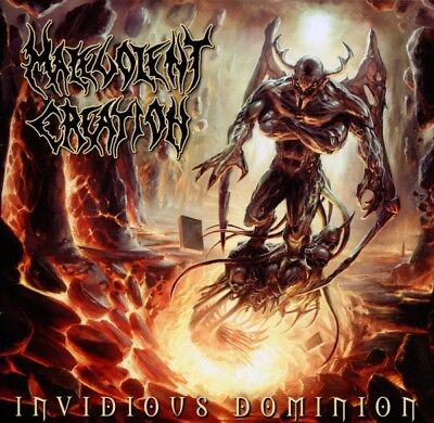 Malevolent Creation - Invidious Dominion CD Massacre NEW