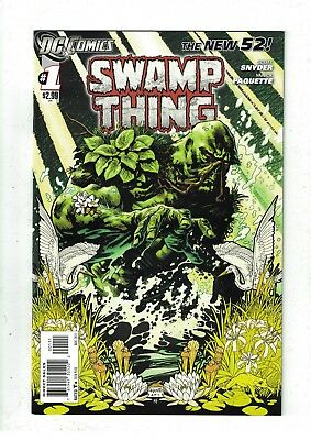 Swamp Thing #1 NM- Scott Snyder/New 52/1st Printing
