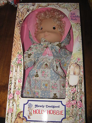 Beautiful Vintage Holly Hobbie Knickerbocker Doll Boxed APP 37 cm Height