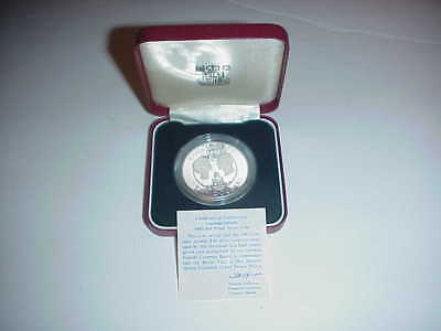 1983 Cayman Islands $10  Proof Silver  Coin