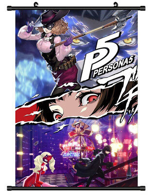 5688 Queen Persona 5 Decor Poster Wall Scroll cosplay