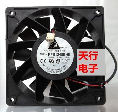 For Delta PFB1248EHE 12038 48V 0.54A 12CM inverter fan