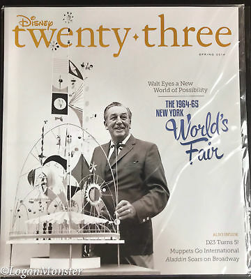 D23 Spring 2014 Magazine 1964-65 NY World's Fair