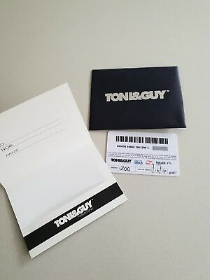 Toni & Guy Hairdressing Gift Card $200 - EXP. 01/10/2018