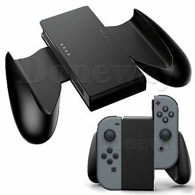 For Nintendo Switch Joy-Con Comfort Grip Controllers Handle Support Holder Black
