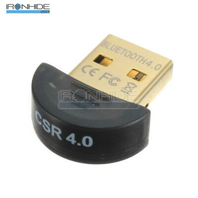 Mini USB Bluetooth Adapter V 4.0 Dual Mode Wireless Dongle CSR 4.0 Win7 /8/XP