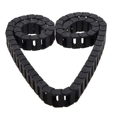 10 x 20mm 1M Open On Both Side Plastic Towline Cable Drag Chain S3O2