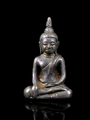 thai buddha amulet old Statue buddha AYUTTHAYA Buddhist art antique gorgeous