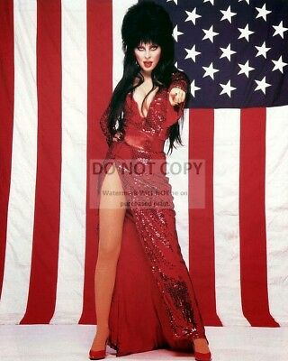 Elvira, Mistress Of The Dark - 8X10 4Th Of July Publicity Photo (Dd986)