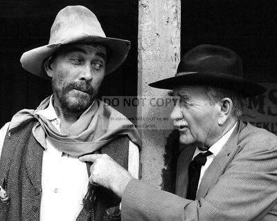 "Ken Curtis And Milburn Stone In ""Gunsmoke"" - 8X10 Publicity Photo (Dd987)"