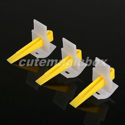 100pcs Tile Leveling System Spacer Wedges Wall Floor Installation Auxiliary Tool