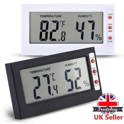 Digital Thermometer Hygrometer / Humidity Temperature Monitor Meter Home/Office