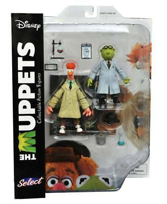 Die Muppets Becher & Bunsen Diamond Toys Action Figuren Set Neu / Ovp