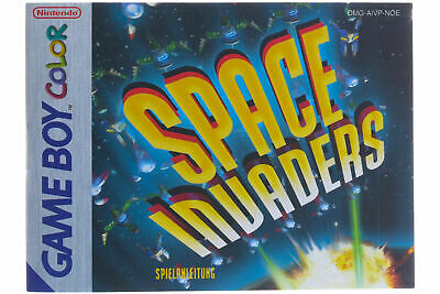 Game Boy Color Anleitung Space Invaders Sehr Guter Zustand!