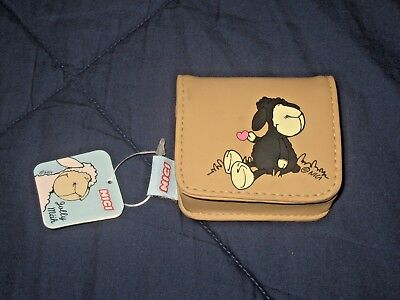 "NICI JOLLY SHEEP COIN PURSE WITH TAG "" Have a jolly good time """