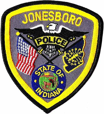 Jonesboro Police Patch Indiana IN NEW