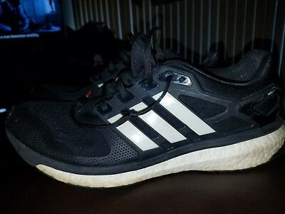 Adidas Energy Boost 2 ESM M Black Mens Jogging Running Shoes US SIZE M 13 45ea00fba